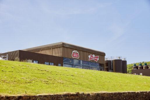Budweiser Brewing Group UK&I AB-Inbev Magor in Wales, United Kingdom, June 2021. CREDIT: Emli Bendixen for The Wall Street Journal - Budweiser Brewing Group - Emli Bendixen