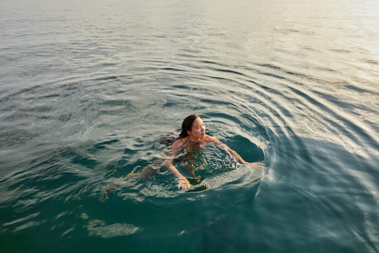 Swimming near Falmouth - Overview - Emli Bendixen